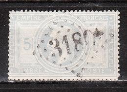 33  Napoléon III - Bonne Valeur - Oblit. - Infime Amincissement - LOOK!!!! - 1863-1870 Napoléon III Lauré