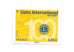 Lions International 5152 Oblitéré 2017 - France