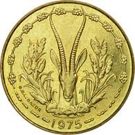 Monnaie, West African States, 10 Francs, 1975, Paris, TTB - Côte-d'Ivoire