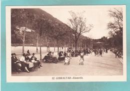 Old Post Card Of Alameda,Gibraltar,R58. - Gibraltar