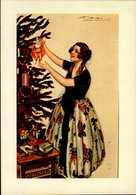 """CENTENAIRE DE LA NAISSANCE DE MAUZAN (15 OCTOBRE 1883)..CARTE POSTALE """"NOEL""""..REPRO....CPM - Mauzan, L.A."""