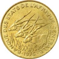 Monnaie, États De L'Afrique Centrale, 10 Francs, 1976, Paris, TB+ - Central African Republic