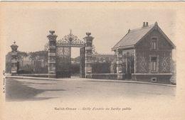 Cp , 62 , SAINT-OMER , Grille D'entrée Du Jardin Public - Saint Omer