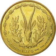 Monnaie, West African States, 25 Francs, 1978, Paris, TTB, Aluminum-Bronze, KM:5 - Côte-d'Ivoire