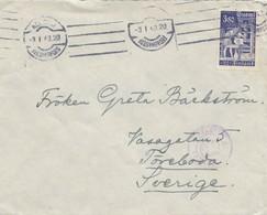 Finnland: 1943: Brief Nach Schweden Von Helsinki - Non Classés
