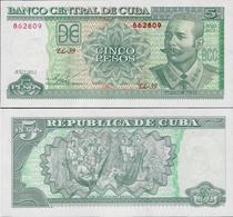 Cuba 2011 - 5 Pesos - Pick 116l UNC - Cuba