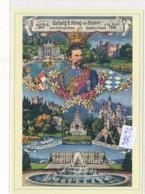 Philatélie - 36706/36637 - Allemagne 2CPMGF Ludwig II    ( Catégorie, Nature,  état... Paricularité  Voir 4 Scans - Allemagne