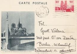 Frankreich: 1936: Ganzsache Nach Berlin - Non Classés