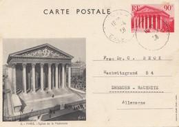 Frankreich: 1938: Ganzsache/Carte Postale Nach Dresden - Non Classés