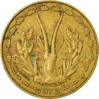 Monnaie, West African States, 10 Francs, 1973, Paris, TB+ - Côte-d'Ivoire