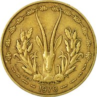 Monnaie, West African States, 10 Francs, 1970, Paris, TB+ - Ivory Coast