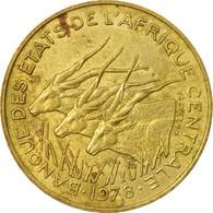 Monnaie, États De L'Afrique Centrale, 10 Francs, 1978, Paris, TB+ - Central African Republic
