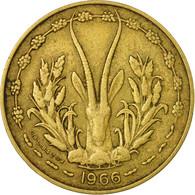 Monnaie, West African States, 10 Francs, 1966, Paris, TB+ - Côte-d'Ivoire