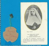 Relic   Reliquia    Maria - Celina    Jeanne Castang   Nojals Dordogne - Images Religieuses