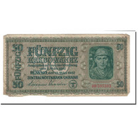 Billet, Ukraine, 50 Karbowanez, 1942, 1942-03-10, KM:54, B - Ukraine