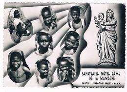 Cpsm - SANCTUAIRE NOTRE-DAME DE LA MAMBERE - CARNOT - OUBANGUI CHARI - 3619 - Central African Republic