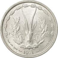 Monnaie, West African States, Franc, 1971, Paris, TTB, Aluminium, KM:3.1 - Côte-d'Ivoire
