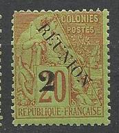 REUNION N° 31a NEUF**  SANS CHARNIERE / MNH - Reunion Island (1852-1975)