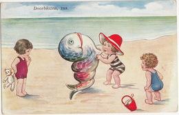 'Doorblazen, Zus.' - (WS + SB 8065 - 1933, Utrecht) - Humorkaarten