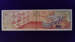 Laos 1975 Signes Zodiaque Zodiac Science Yvert 278-279 ** MNH - Laos
