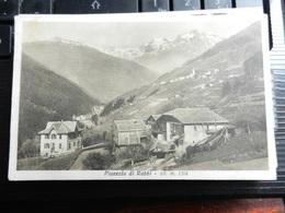 19683) PROVINCIA TRENTO PIAZZOLA DI RABBI VIAGGIATA 1932 - Trento