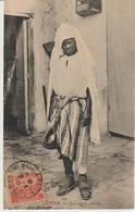63-Tunisia-Mestieri-Costumi-Servitore Arabo-v.1910 X Palermo-Sicilia-N.96 Portalettere - Paesani