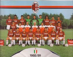 °°° Milan A. C. 1988-89 °°° - Fútbol