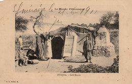 Le Maroc Pittoresque - Café Maure à OUDJDA - Cpa De Luxe écrite En 1911 - Bon état - 2 Scans - Cafés