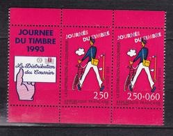 """N° P 2793A Journée Du Timbre Les Métiers De La Poste: """" La Distribution """"Un Timbre Neuf Sans Charnière - Francia"""