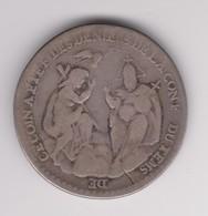 Jeton D'argent De La Conférence Des Temps De Carême 1742 - Monarchia / Nobiltà