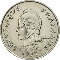 Monnaie, Nouvelle-Calédonie, 10 Francs, 1973, Paris, TTB, Nickel, KM:11 - Nouvelle-Calédonie
