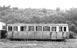 SAINT-BONNET-AVALOUZE   -  Cliché D'un Wagon De La S.N.C.F.  -  Locomotive   -  Voir Description  -   Chemin De Fer - France