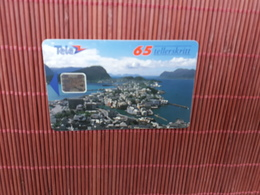 Phonecard Norway  Used Only 30.000 EX Made  Rare - Norway