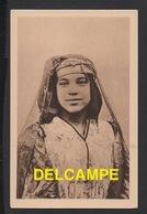 DD / ALGÉRIE / TYPES / JEUNE FILLE INDIGÈNE DE TÉBESSA / CARTE CONVIANT AUX FÊTES DU CENTENAIRE DE L' ALGÉRIE EN 1930 - Algeria