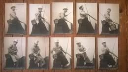 CPA / Lot De 10 Cartes Postales Anciennes / Le Cocher Parisien - Humour