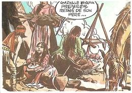 Image Poulain - Série 29 Connaissance De La BD - Image N° 22 Le Dessin Réaliste - Macchus - Frisano / Maric - Poulain