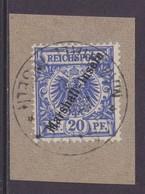 Dt.Kol. Marshall-Inseln MiNr. 10 Gest. Briefstück - Kolonie: Marshall-Inseln