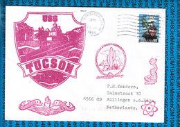 USA Cover US Navy / USS Tucson SSN-770 - Etats-Unis