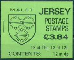 JERSEY Carnet  N°364 Nxx  écussons TB Cote :25 €. - Jersey