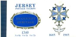 JERSEY Carnet Prestige  N°354 Nxx  Huguenots TB Cote :25 €. - Jersey