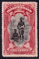 Congo 0028* Mols Paysage H  Tanding 15 Dentelé 15 ! - Congo Belge