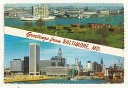 CARTE POSTALE BALTIMORE MD USA - Baltimore