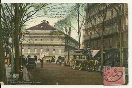 75 - PARIS / LE THEATRE DE L'ODEON - AQUA PHOTO - Andere Monumenten, Gebouwen