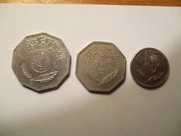 Iraq: 50, 250 Fils & 1 Dinar 1981 - Iraq