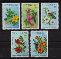 St. Vincent 1976, Birds, Hummingbirds, Kolibris, Complete Set, MNH. Cv 17 Euro - Hummingbirds