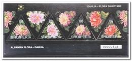 Albanië 2004, Postfris MNH, Flowers - Albanië