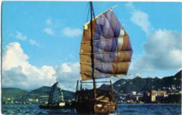 CHINA  CINA  HONG KONG  The Harbor - Chiatte, Barconi