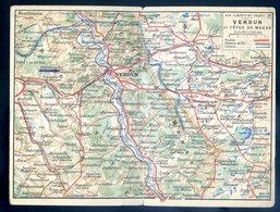 Cpa Du 55 Verdun Et Côtes De Meuse Correspondance Des Armées Franchise Militaire  YN2 - Verdun