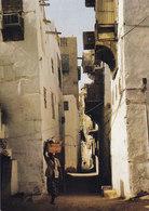 Saudi Arabia PPC Jeddah - Old Souk, Shadow And Light Tag's Art Foto Gérard Delorme (2 Scans) - Saudi Arabia