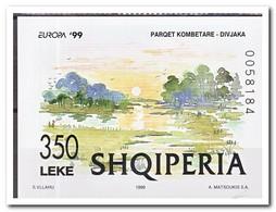 Albanië 1999, Postfris MNH, Painting, Trees - Albanië